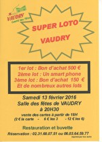 SUPERLOTO A VAUDRY